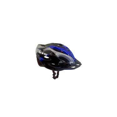 Imagem de Capacete Bike Gts com Sinalizador de Led Ciclismo Azul G