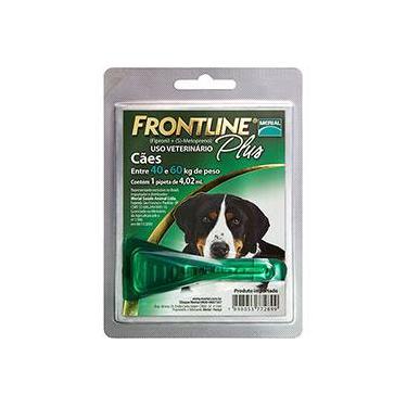 Medicamento Antipulgas e Carrapatos p/ cães- Frontline Plus