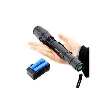 Lanterna Tática Forte Led Police 258.000w 468.000 Lumens 2 Baterias