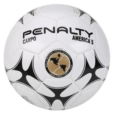 Bola Futebol Campo America's Ultra Fusion VIII Penalty - Branco/Preto