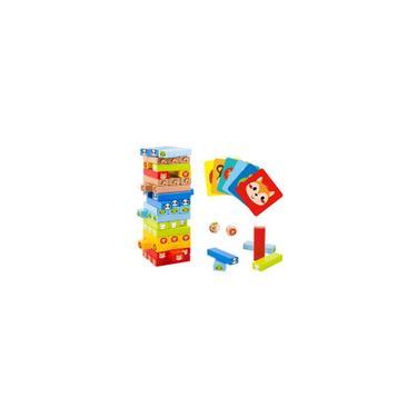 Imagem de Jogo Jenga Animais Brinquedo Educativo - Tooky Toy