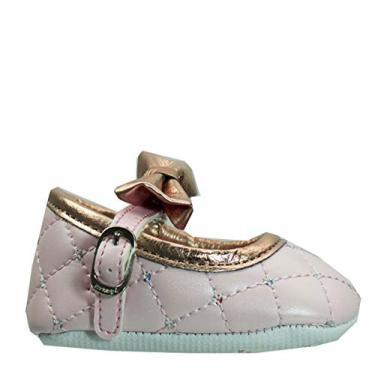Sapato Recém Nascido Ortopé Perolado
