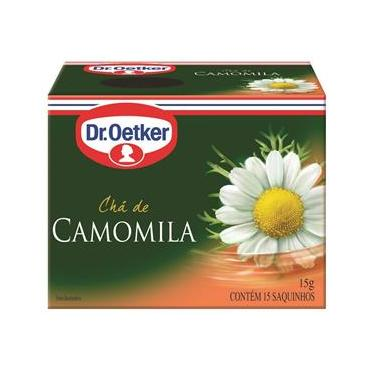 Chá De Camomila Dr. Oetker Kit Com 2 Caixas
