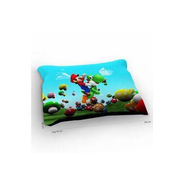 Colchão Para Pet Super Mario Yoshi Fly