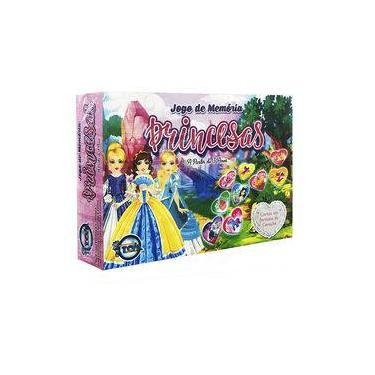 Imagem de Jogo Da Memória Princesas - Toia