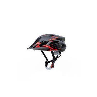 Capacete Para Ciclismo Tsw Raptor 2 Mtb Com Sinalizador Traseiro Tamanho G 57/61 Cm Com Regulagem
