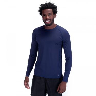 Camiseta Manga Longa com Proteção Solar UV 50+ Oxer New - Masculina Oxer Masculino