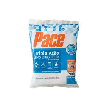 Imagem de Pastilha Pace Tripla Ação Cloro Estabilizado 200g HTH