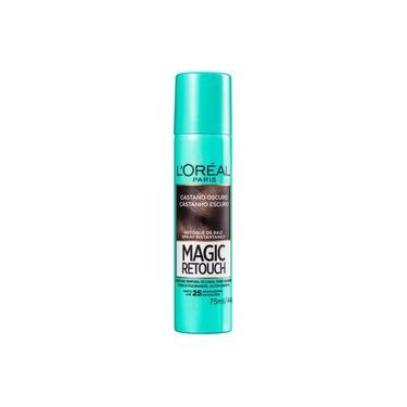 Imagem de L'Oréal Paris Magic Retouch Castanho Escuro - Corretivo de Raiz 75ml