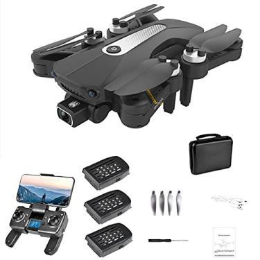 Drone de câmera K80 PRO GPS 4K Dual ESC com motor sem escova, drone 5G WiFi FPV com função Follow Me, drone profissional para adultos, voo de 60 minutos com 3 baterias