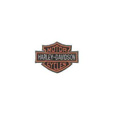 Patch Bordado Termocolante Harley Davidson I
