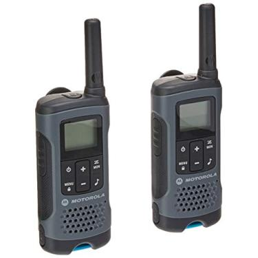 Motorola Talkabout T200BR Rádio Comunicador, Cinza (pacote de 2)