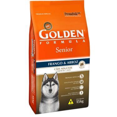 Ração Seca PremieR Pet Golden Formula Cães Sênior Frango e Arroz - 15 Kg