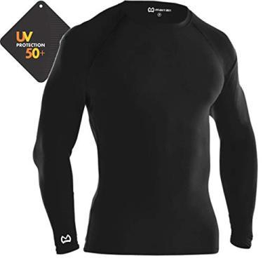 e9684ccf69f94 Camisa De Compressão Térmica Marra 10 Pro Proteção Solar Manga Longa