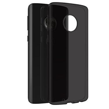 Capa + Pelicula De Vidro Motorola Moto G6 Xt1925 tela 5.7 - Fume