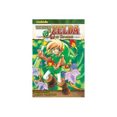 The Legend of Zelda, Volume 4: Oracle of Seasons - Akira Himekawa - 9781421523309