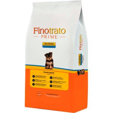 Ração Seca Finotrato Prime Premium Especial para Cães Filhotes Raças Pequenas e Médias - 3 Kg + 1 Kg Grátis