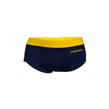 Sunga Marca Ferzon Modelo Rio Boxer/Trunk Masculino Cor Marinho Amarelo Adulto