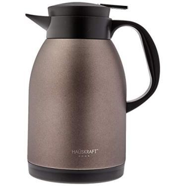 Garrafa Térmica 1 6l Coffee Sem Ampola, Haüskraft, Garrafa Térmica 1 6l Coffee Sem Ampola Nwy-xc16co, Café