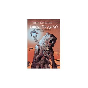 Terra-Dragão. O Sopro das Pedras - Volume 1. Formato Convencional - Capa Comum - 9788525432469