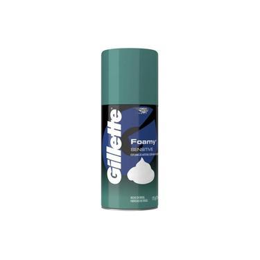 Espuma de Barbear Gillette Foamy Sensitive