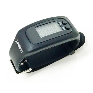 Relógio Pedômetro Liveup - Preto