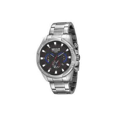 42018cbf7f3 Relógio Masculino Seculus Cronógrafo 28815G0SVNA1