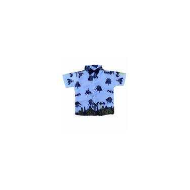 Imagem de Camisa temática infantil masculina Tema Batman