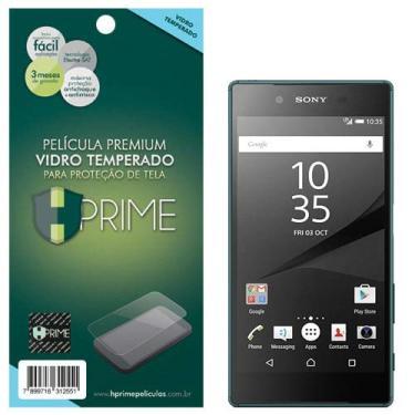 Pelicula de Vidro Temperado 9h para Sony Xperia Z5, HPrime, Película Protetora de Tela para Celular, Transparente