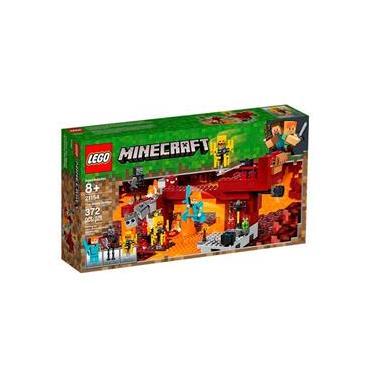 LEGO Minecraft - A Ponte Flamejante - 21154