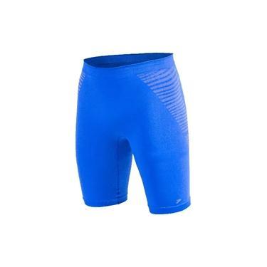 Imagem de Bermuda de Compressão Poker Skin Power Plus X-ray Masculina - Azul