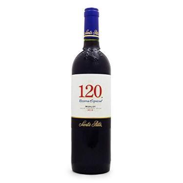 Vinho Santa Rita 120 Reserva Especial Merlot 750ml