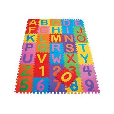 Imagem de Tapete Educativo Mingone Alfanumérico 091 - 36 peças