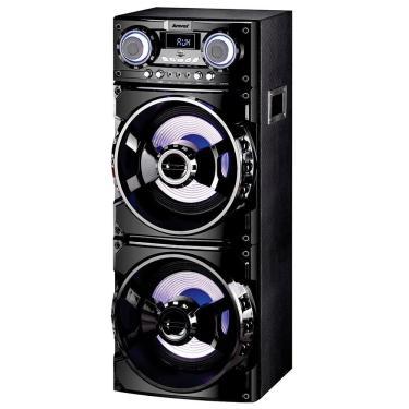 Caixa Amplificadora Amvox ACA-1001, USB, SD, Bluetooth, LED, 1000W RMS - Bivolt