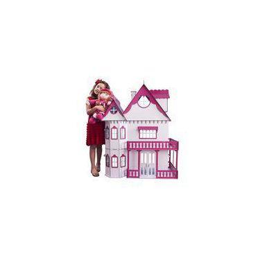 Imagem de Casa de Bonecas Escala Barbie Modelo Emily Sonhos - Darama