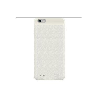Capa Carregadora Power Bank iPhone 6 / 6s Plus Baseus Branca
