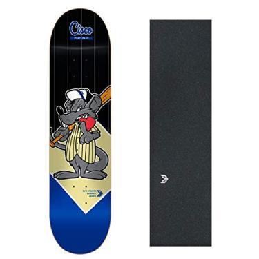 "Shape Cisco Skate Fiber Decks Baseball 8"""
