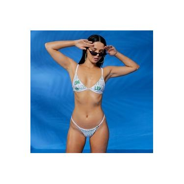Biquini LabellaMafia Beachwear Branco Original