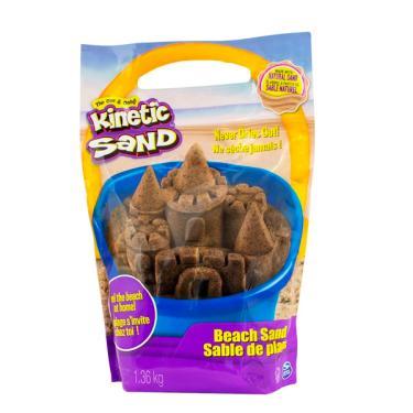Imagem de Areia De Modelar Kinetic Sand Massa Areia Marrom - Sunny