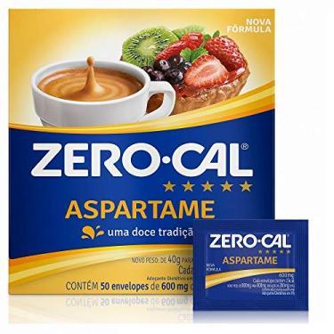 Adocante Aspartame Sache 50x600mg Zero Cal