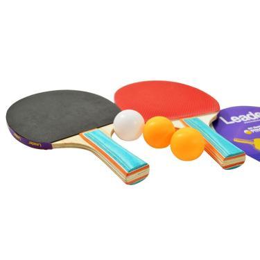 ac18d32b4 Kit Ping Pong 2 Raquetes 2 Bolinhas Ahead Sports ASM451 · R  20