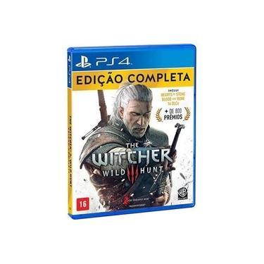 PS4 The Witcher 3 Wild Hunt Edição Completa