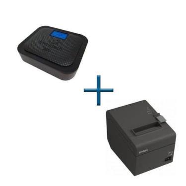 Kit Sat Fiscal Go Bematech  + Impressora Térmica Epson TMT20 - Bematec