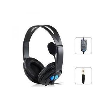 Fone Headset Gamer para Playstation 4 Ps4 com Microfone Cabo P3