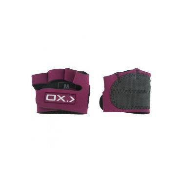 9b8107c8d Luvas para Academia Oxer Protetor Palmar com Dedos - Feminina - VINHO Oxer