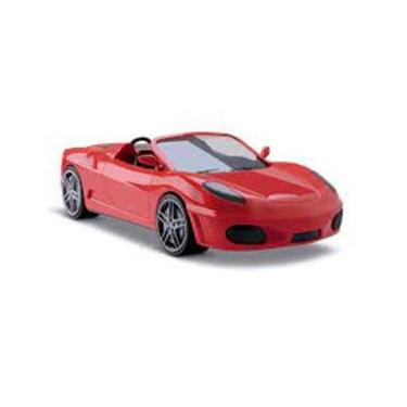 Imagem de Ferrari Miniatura Simar Brinquedos Fast Car 6080
