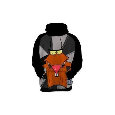 Blusa De Frio Moletom The Angry Beavers Castores Pirados 2