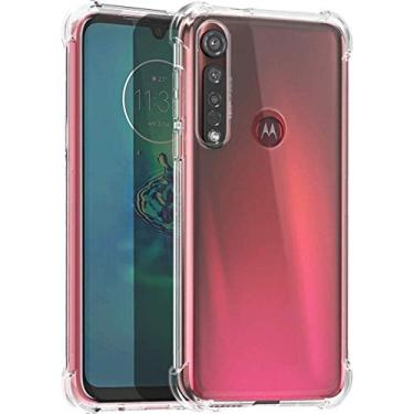 Capa Protetora Para Motorola Moto G8 Plus Tela De 6.3 Polegadas Capinha Case Transparente Air Anti Impacto Proteção De Silicone Flexível - Danet