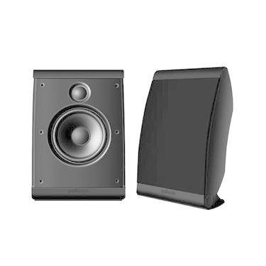 Polk Audio OWM3 - Par de caixas acústicas para Home Theater ultra-versátil Black