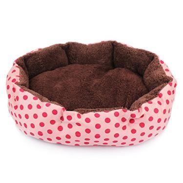 Cama de cachorro Legendog para gatos, cama para animais de estimação, pontos decorativos macios, destacáveis, laváveis, para cães, cama de dormir para cães e gatos